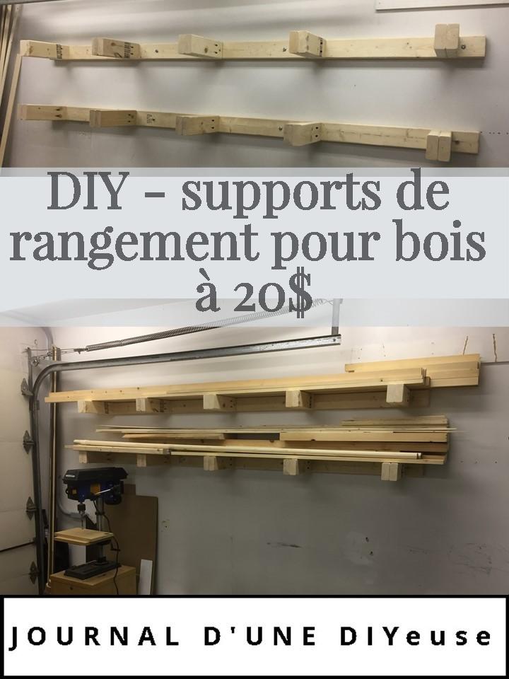 support de rangement pour bois pour 20