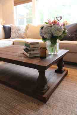 Balustrade Coffee Table Redefinedwoodworking
