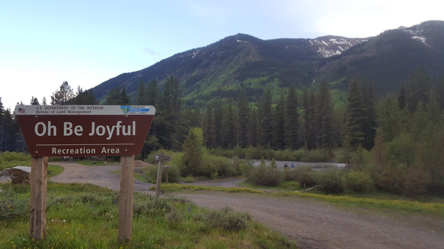 Image result for Oh Be Joyful Campground