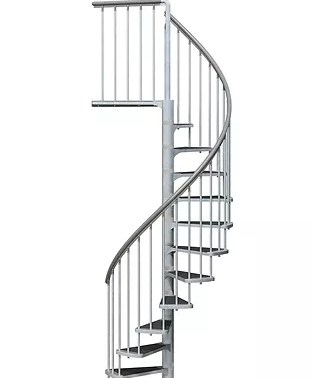 Spiral Staircases Dolle Usa | Replacement Handrail For Spiral Staircase | Staircase Kits | Floating Staircase | Modern Staircase Design | Staircase Ideas | Steel