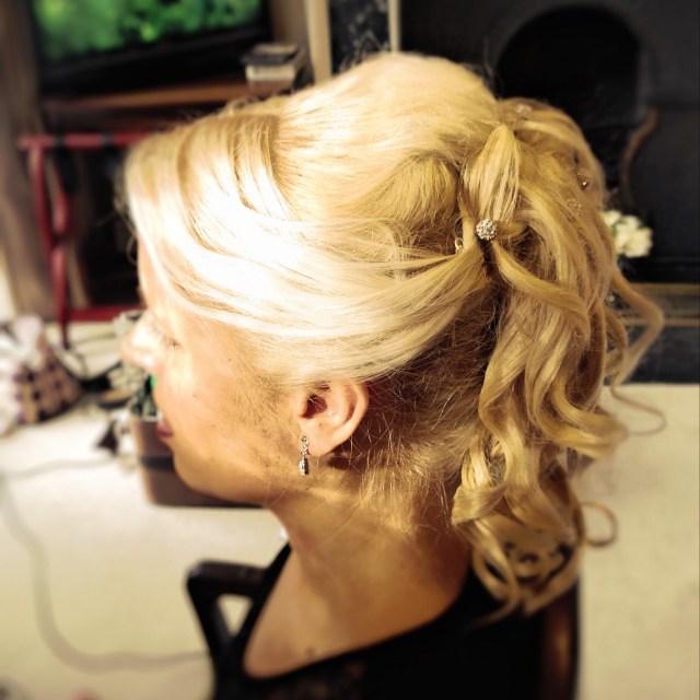 claire gibson mobie bridal hair portfolio | belfast