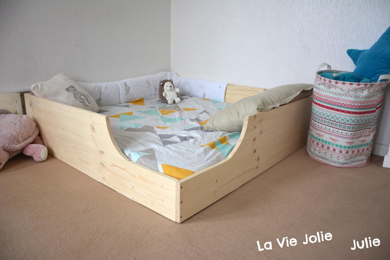 Lit Au Sol Pour Bb 2 Nouvelle Version Montessori