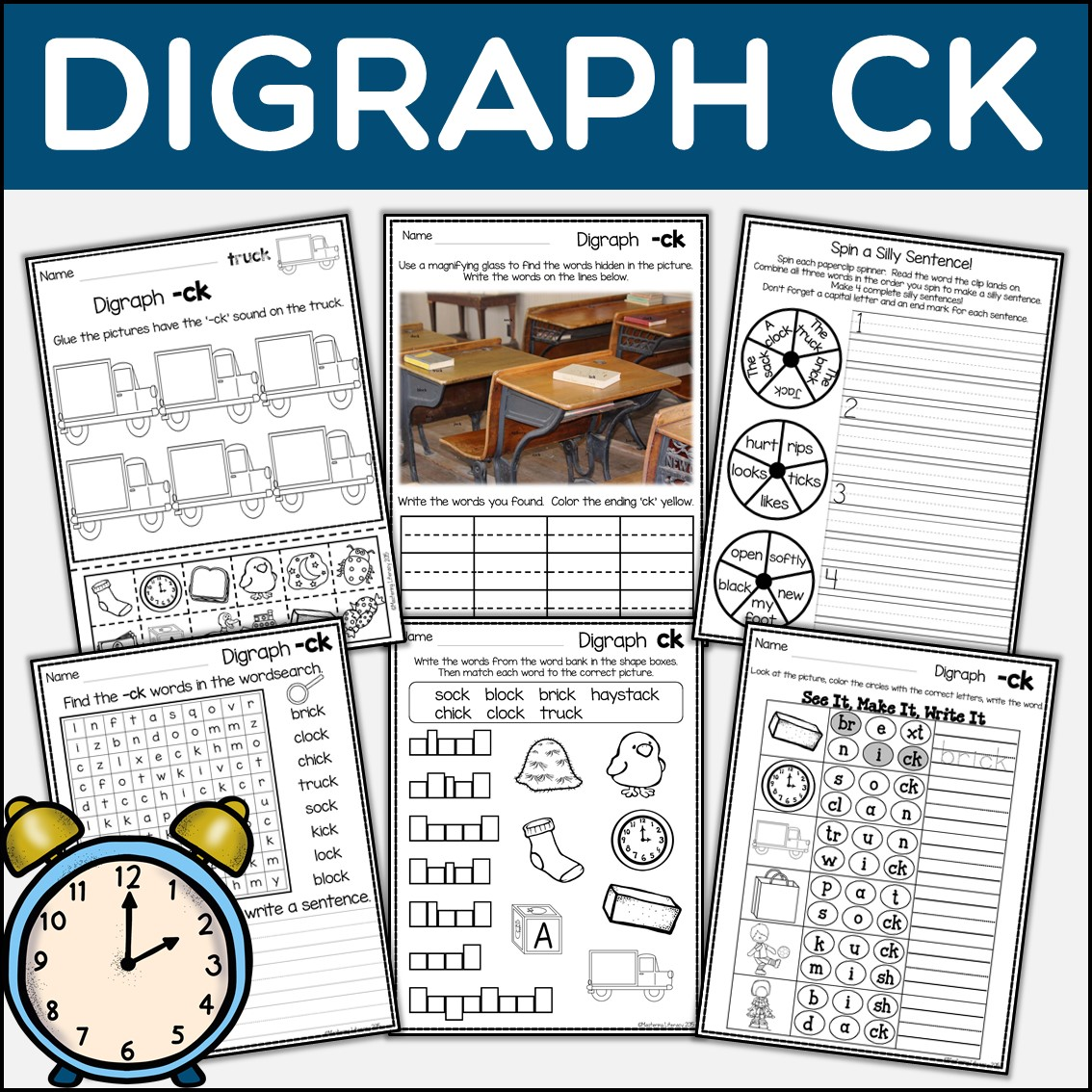 Phonics Phonics Digraph Ck