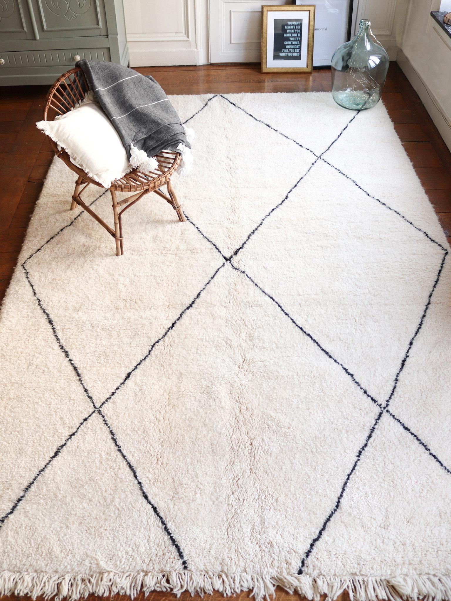 tafna tapis berbere beni ouarain 2 x 3 m chez moi ailleurs