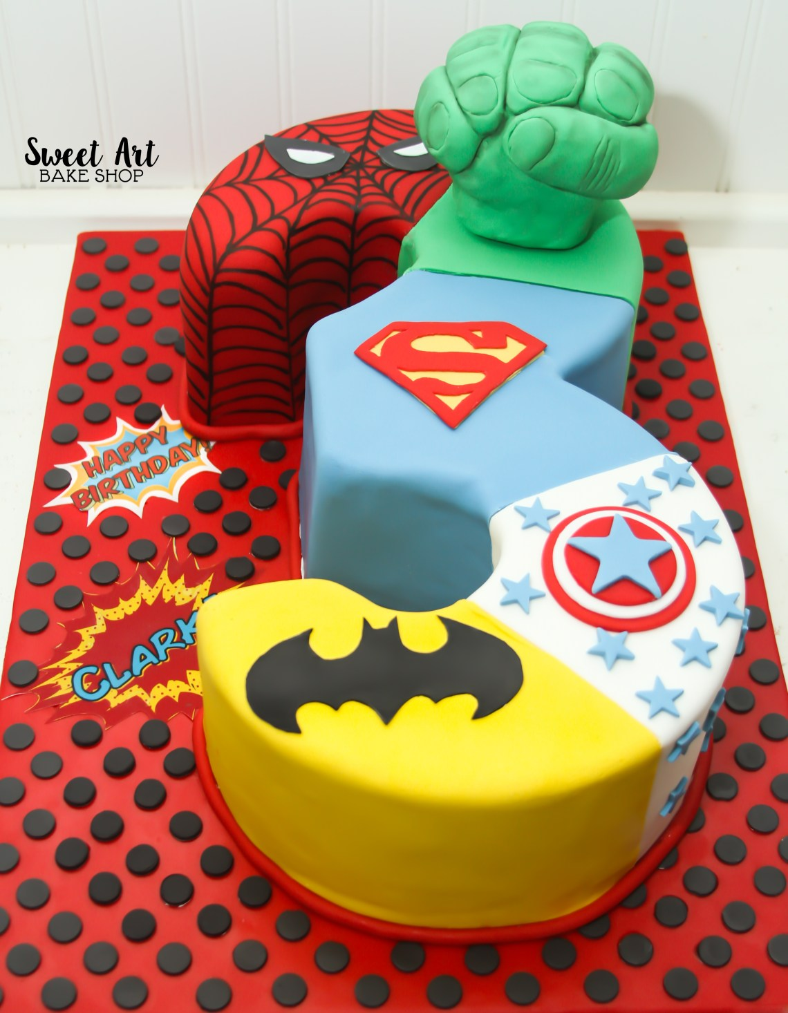 Swell Happy 3Rd Birthday Cake Boy The Cake Boutique Personalised Birthday Cards Beptaeletsinfo