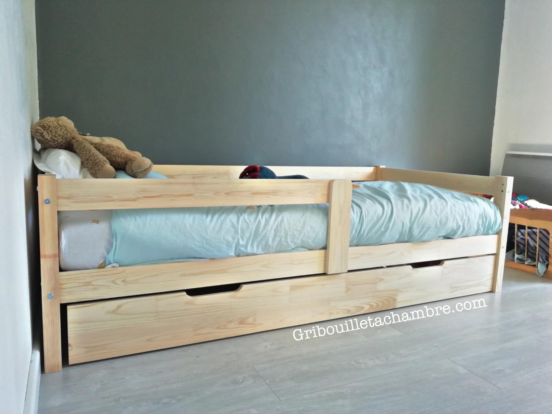 lit enfant avec tiroir personnalisable avec sommier a partir de