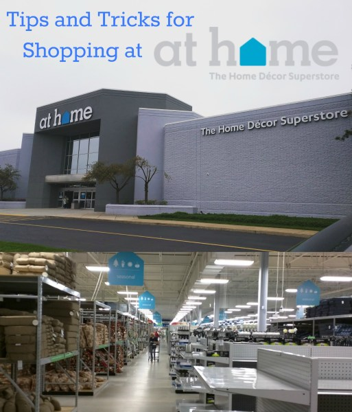 Tips and Tricks for Shopping at At Home The Home Decor Superstore     Tips and Tricks for Shopping at At Home The Home Decor Superstore   Mending  the Piggy Bank
