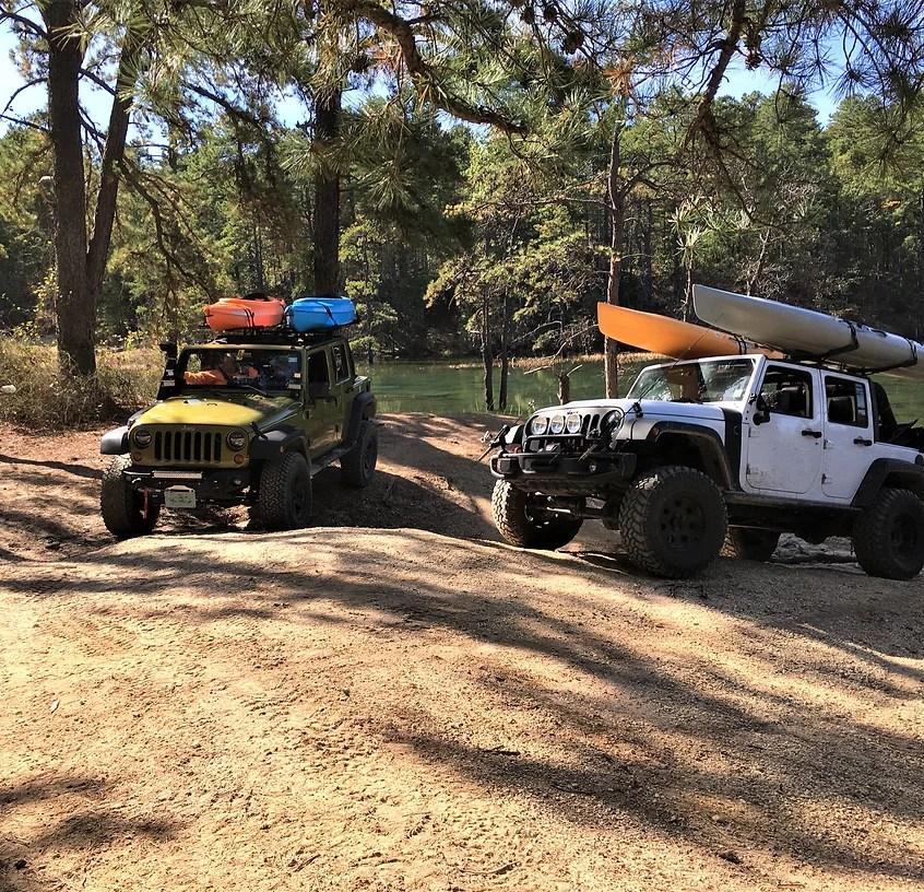 jeep roof racks exposed racks by sms