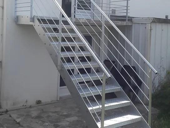 escalier metallique escalier