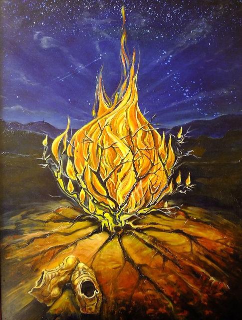 burning bush church fathers # 35