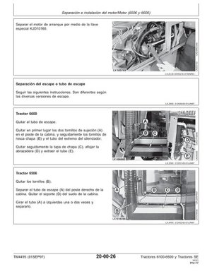 John Deere Manuales de taller Workshop Manual Technical