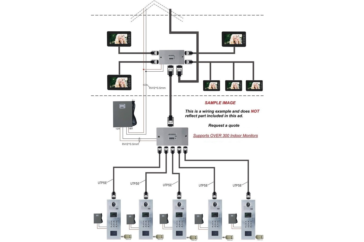 Intercom System Schematic Diagram