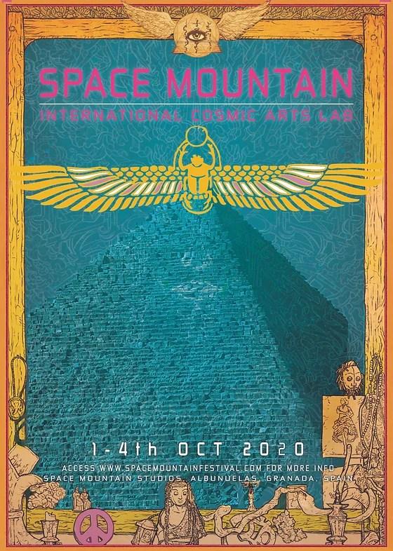 space mountain festival spain space