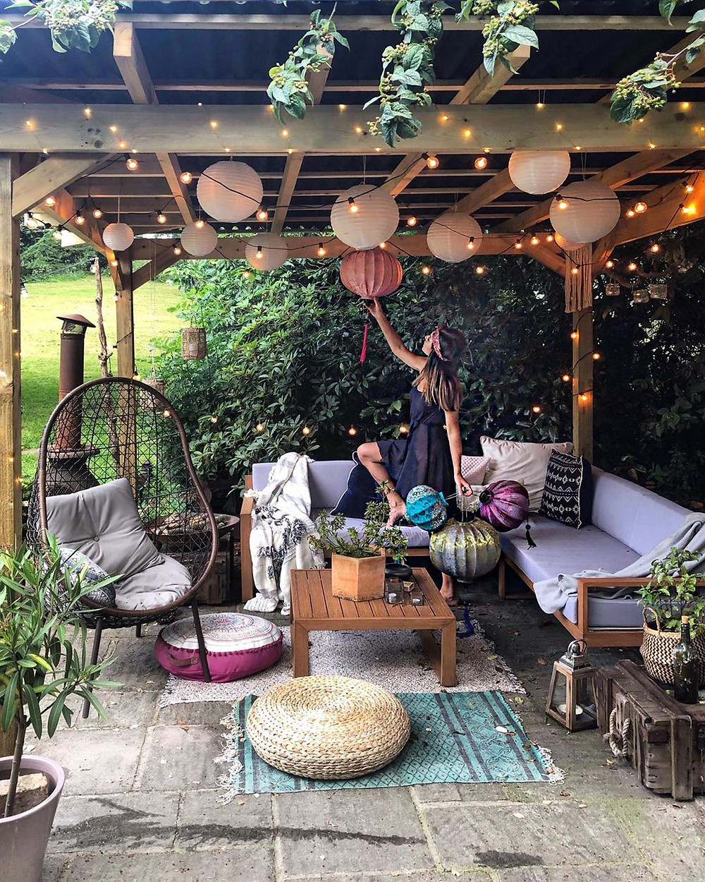 small patio decorating ideas and