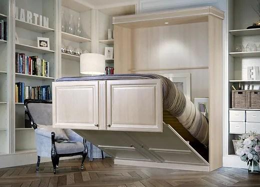 armoire lit electrique avec