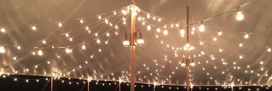 tent lighting coastal maine canopies