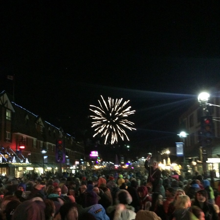 Banff NYE Street Party