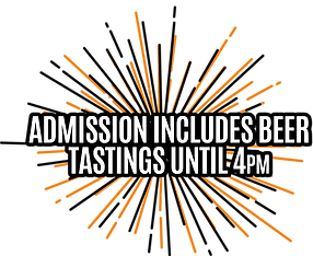 Complimentary beer tastings until 4pm