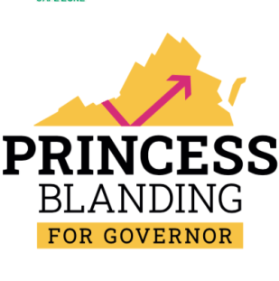 Stickers- Princess Blanding For Governor | Princess Blanding