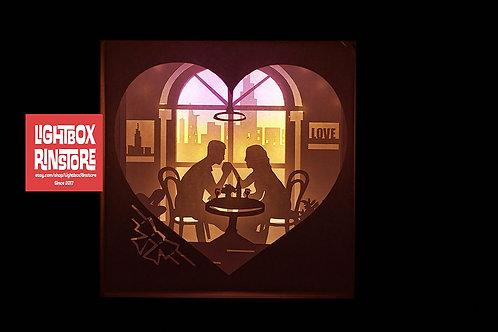 Download BOGO #80 I Love you Valentin svg, 3D Shadow box Template ...