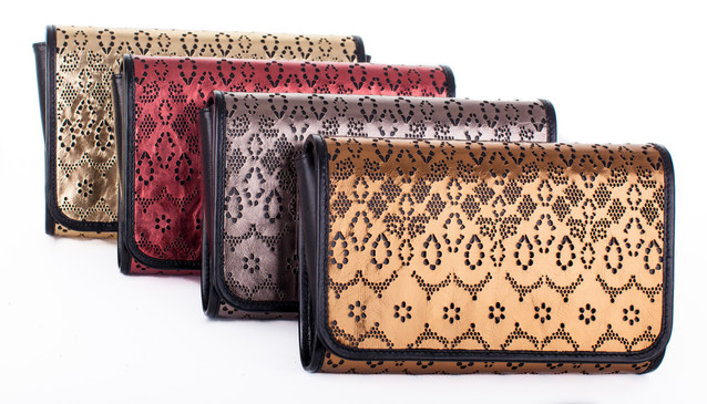 Laser Cut Clutches - Midnight Clutch by RusiDesigns