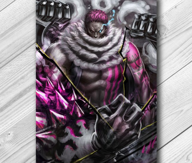 Of Charlotte Katakuri This Series Is Center Around Sweets As Color Sceme While Portraying Their Devil Fruit Ability In Their Most Bad Ass Moment To