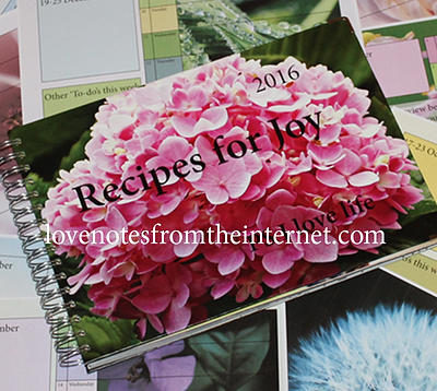 recipes for joy planner