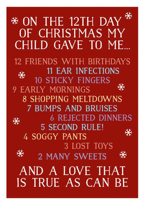 12 days child single