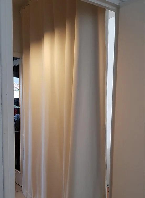 rideau phonique pour porte porte d