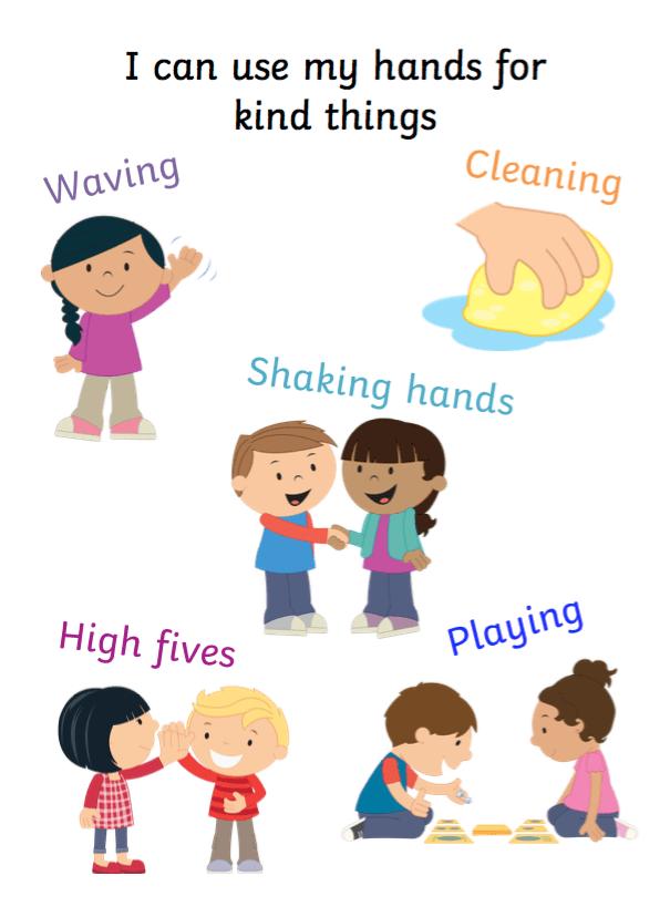 Kind Hands Social Story