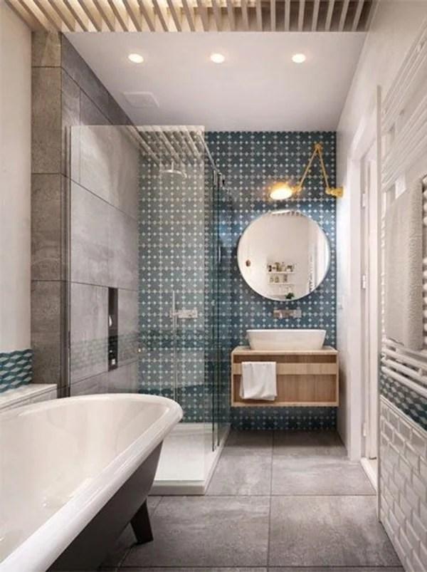 carreaux ciment dans la salle de bains