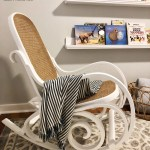 From Old To New Stunning Nursery Chair Transformation