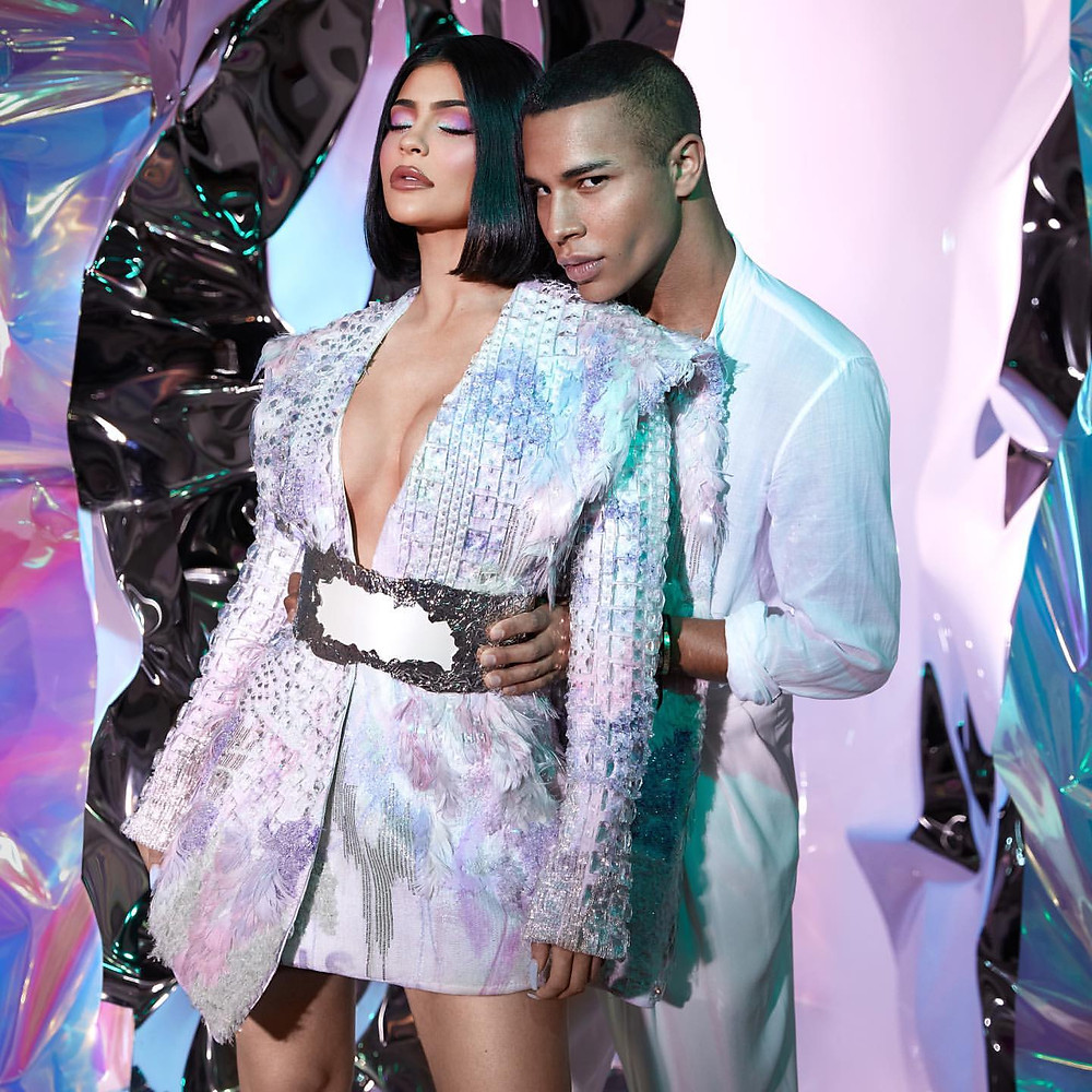 Olivier rousteing teamed up with the beauty brand to create the upcoming balmain x l'oréal paris lipstick line. Kylie Jenner Collabs with Olivier Rousteing For Balmain ...