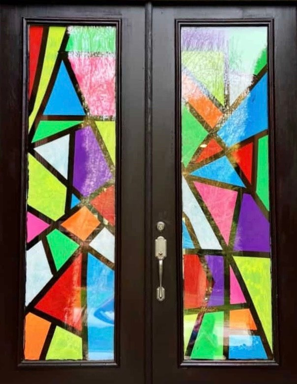 Make Your Own Stained Glass Window At Home