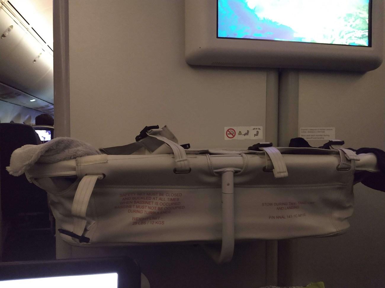 plane travel cot, bassinet