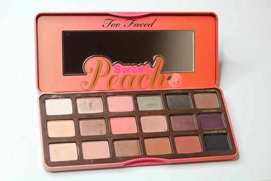 sweet peach palette # 84