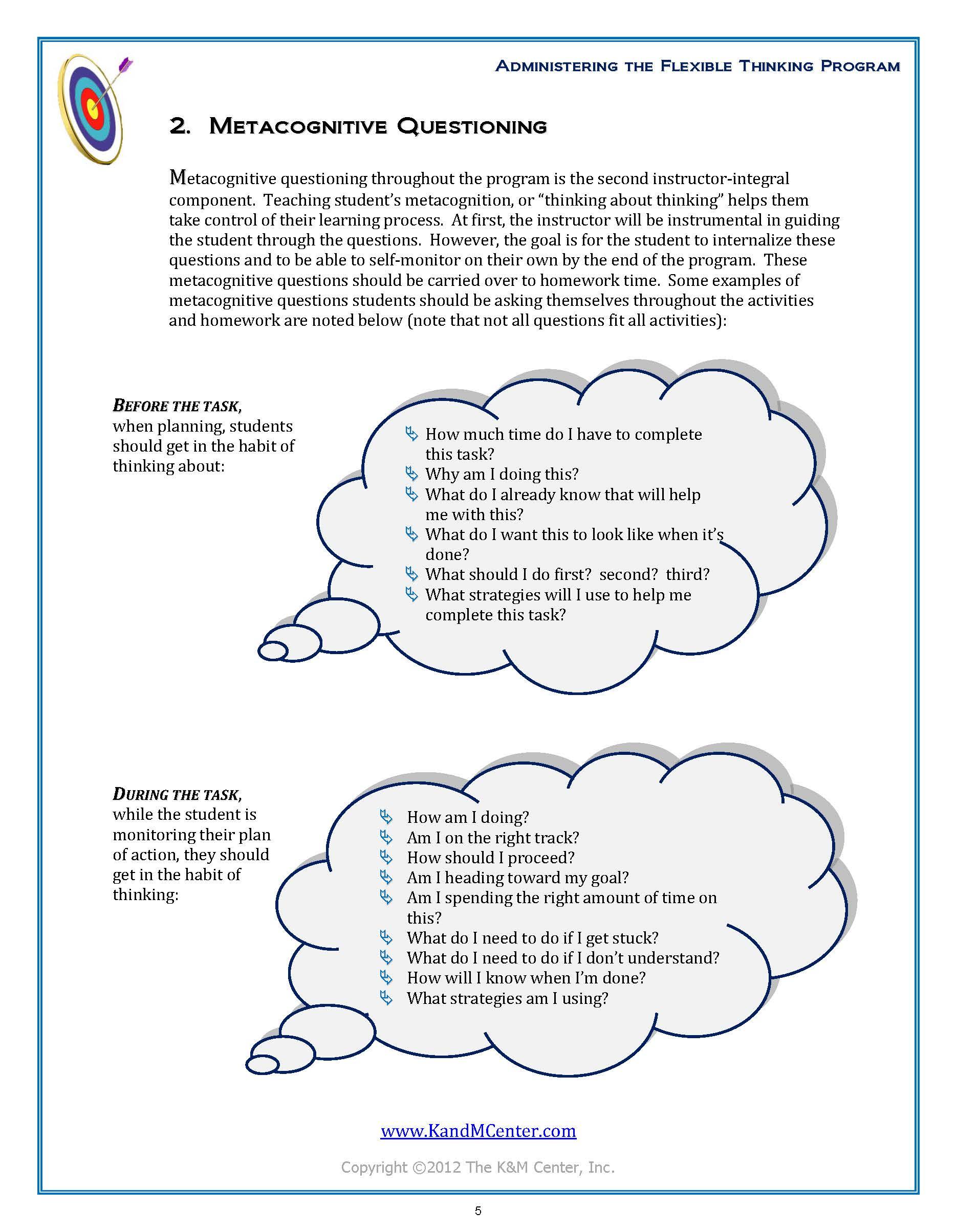 Flexible Thinking Program