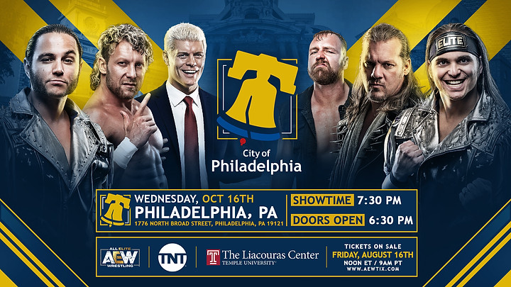 AEW releases ticket details for upcoming TV tapings in Boston and Philadelphia