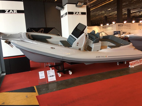 ZAR 79 SL Inflatable Boat Pro Tender Sales Service