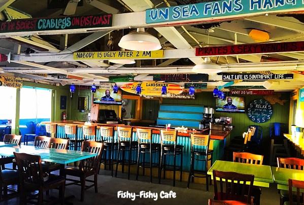 fishy fishy cafe southport nc cash mob