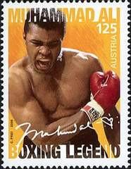Muhammad Ali Stamp