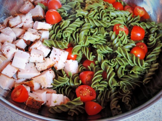 Pasta Turkey Salad