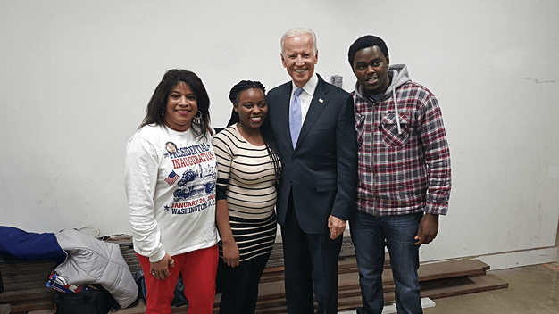 Picture with the Vice President