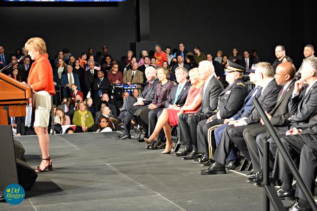 Valerie Biden speaking
