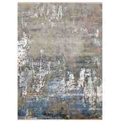 Blue And White Contemporary Rug The Rugs Story