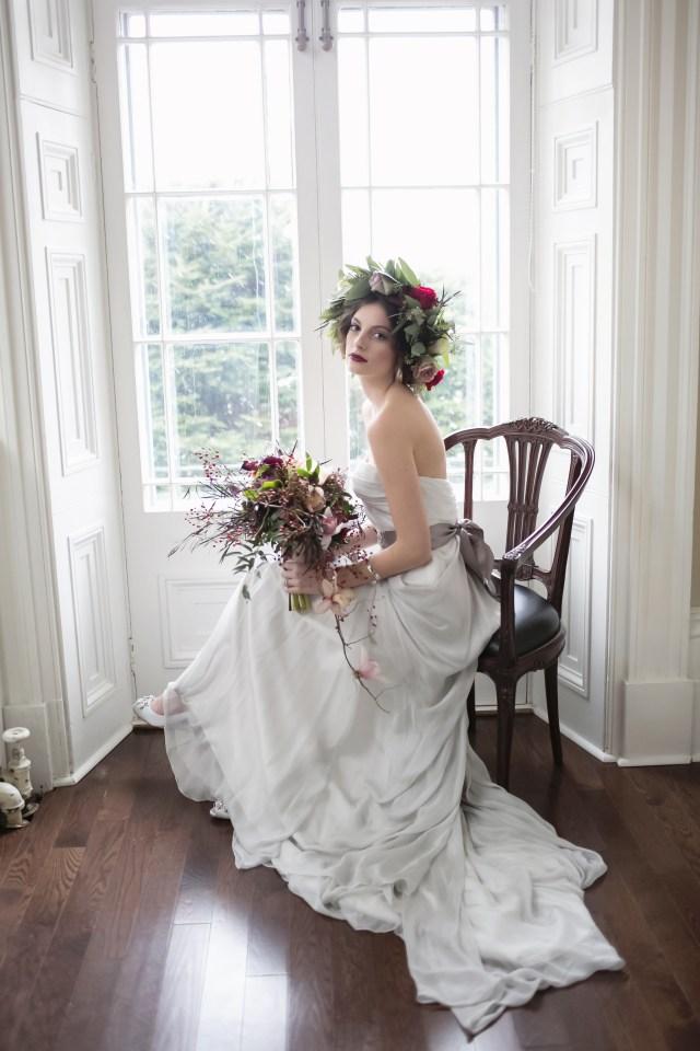 topknot | bridal