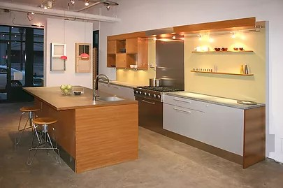 Showroom Fletcher Cameron Design  a full service custom kitchen and cabinet company   has opened a new kitchen showroom in the hip and stylish 9th Square  Historic