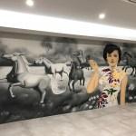 Chinese Restaurant Murals Street Art Urban Art