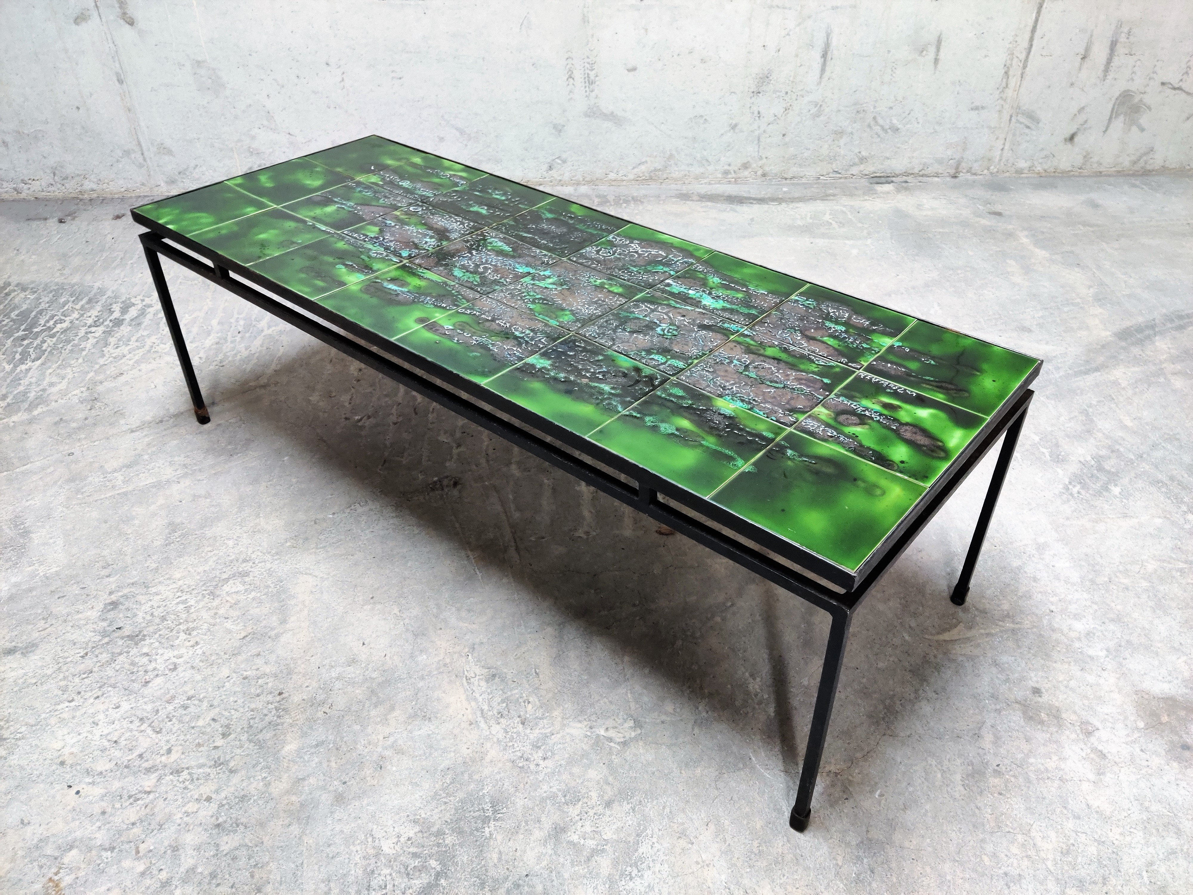 On Hold Mid Century Ceramic Coffee Table By Juliette Belarti