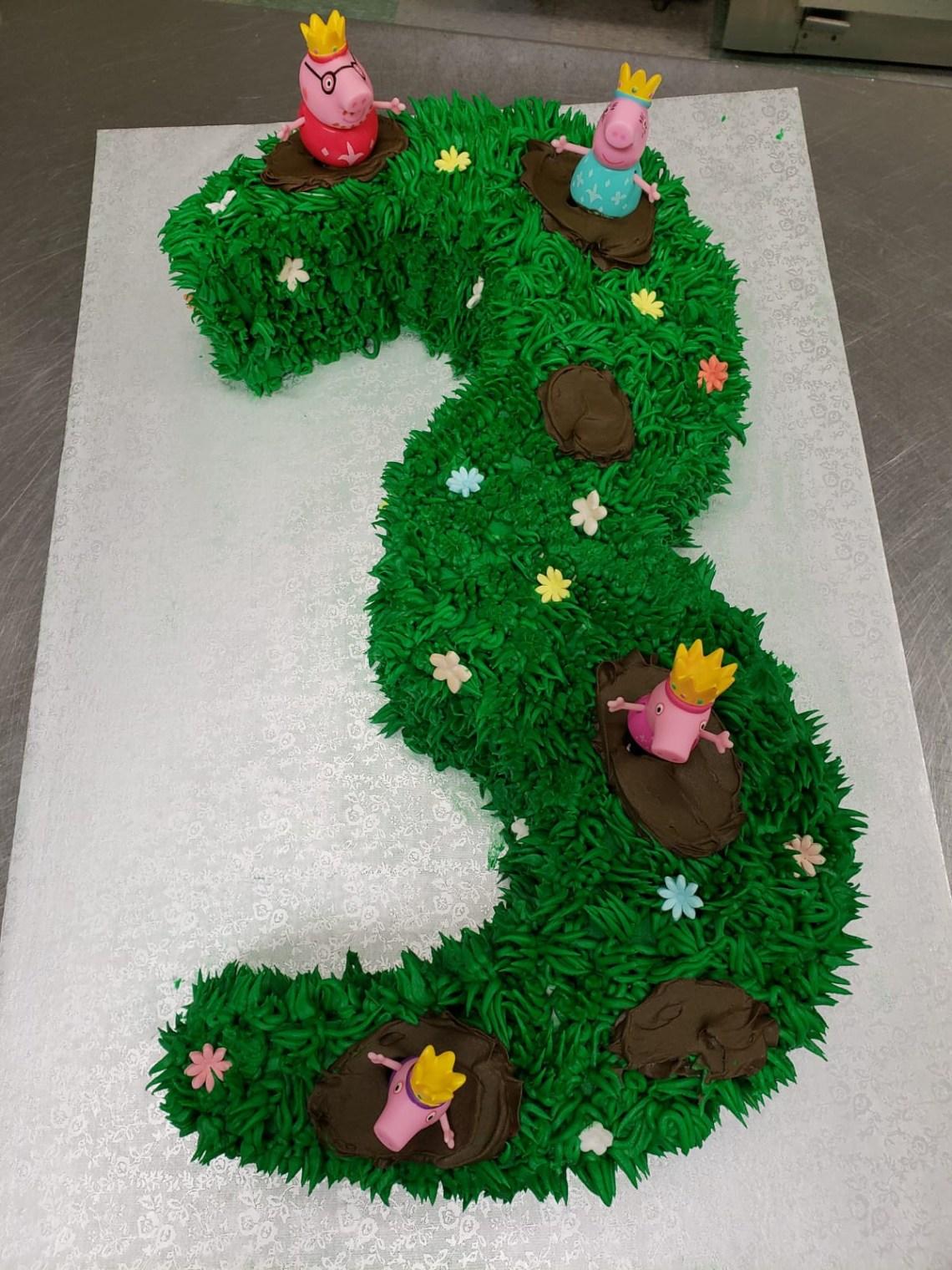 Enjoyable 3 Year Old Birthday Cake The Cake Boutique Personalised Birthday Cards Arneslily Jamesorg